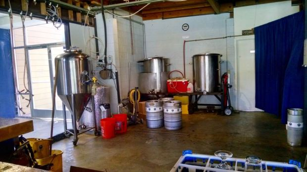Groundswell Brewing Company Specialty Tanks