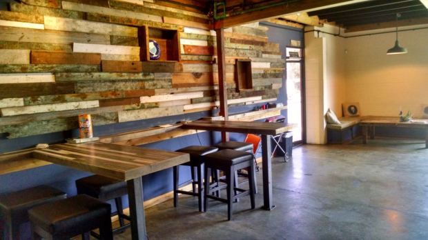 Groundswell Brewing Company Seating