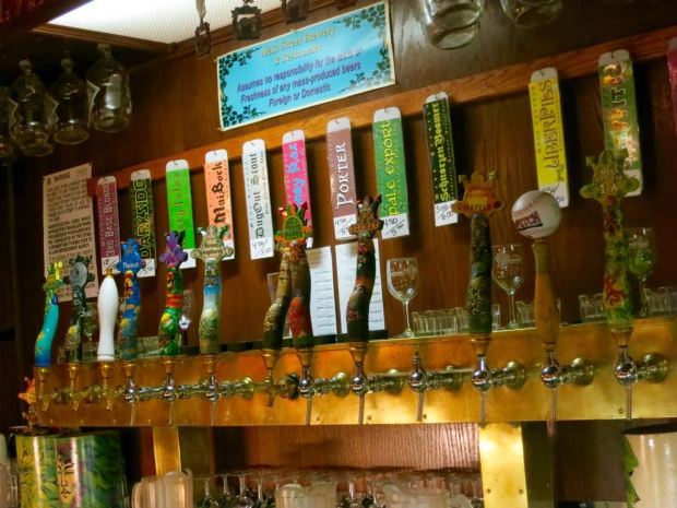 Main Street Brewery Taps