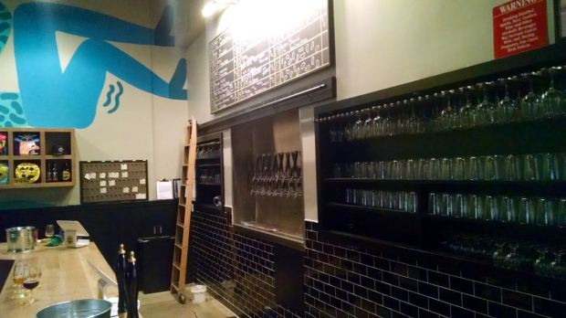 Mikkeller Brewing Company - Bar Side view