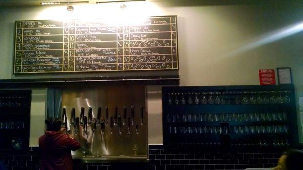 Mikkeller Brewing Company Beer Taps